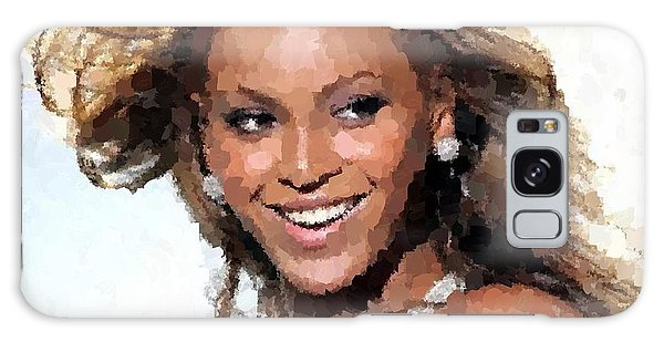 Beyonce Portrait Galaxy Case