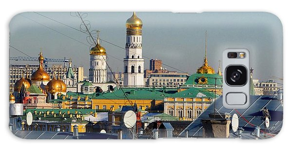 Moscow Skyline Galaxy S8 Case - Beyond The Rooftops 2 by Anna Yurasovsky