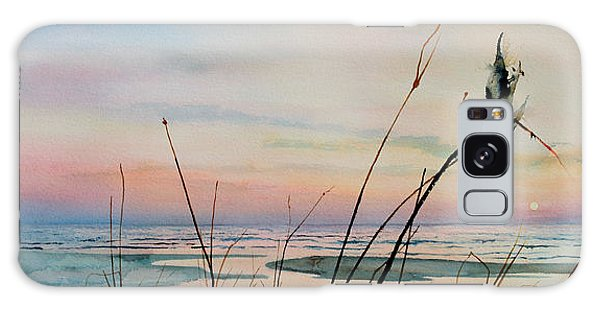Ocean Sunset Galaxy S8 Case - Beyond The Sand by Hanne Lore Koehler