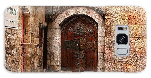 Door In Jerusalem Galaxy Case