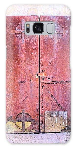Beyond Yon Locked Door Galaxy Case