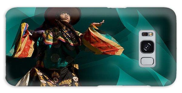 Bhutanese Festival Galaxy Case by Angelika Drake
