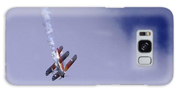 Bi Wing Stunt Plane Galaxy Case