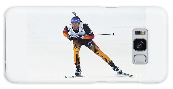 biathlete Erik Lesser Germany Galaxy Case by Rudi Prott