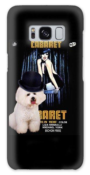 Bichon Frise Art - Cabaret Movie Poster Galaxy Case