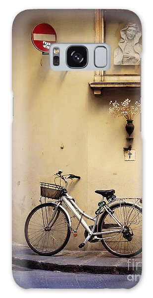 Bicycle And Madonna Galaxy Case