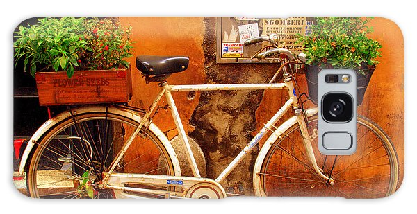 Bicycle In Rome Galaxy Case