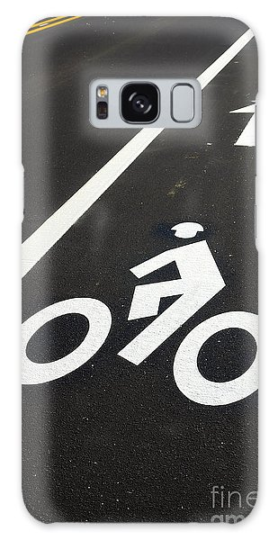 Bicycle Galaxy Case - Bicycle Lane by Olivier Le Queinec
