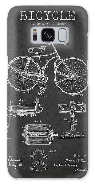 Bicycle Galaxy Case - Bicycle Patent Drawing From 1891 by Aged Pixel