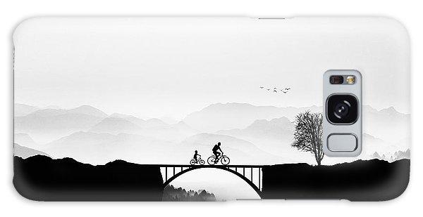 Layers Galaxy Case - Bicycle Ride by Bess Hamiti