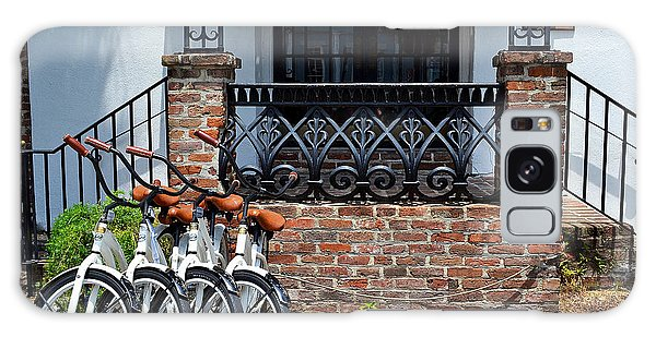 Bicycles In Charleston Galaxy Case