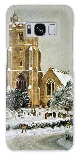 Biddenden Church Galaxy Case by Rosemary Colyer