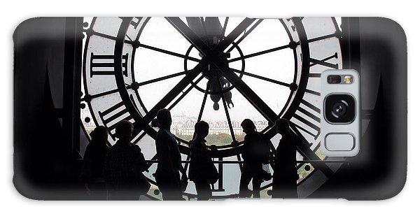 Biding Time Galaxy Case by Mary Ellen Mueller Legault