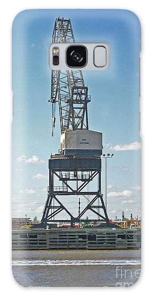 Big Arthur At Port Arthur Texas Galaxy Case by D Wallace