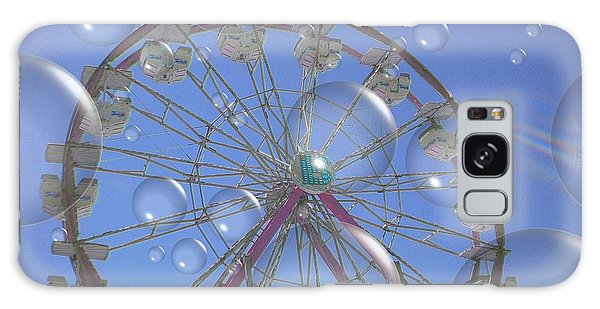 Big B Bubble Ferris Wheel Galaxy Case