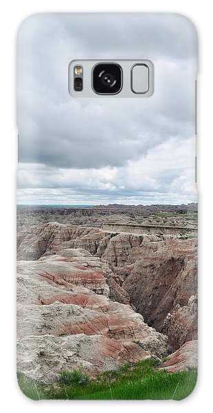 Galaxy Case featuring the photograph Big Badlands Overlook by Kyle Hanson