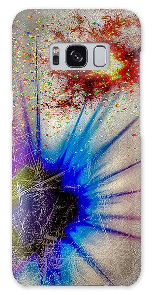 Galaxy Case featuring the digital art Big Bang by Eleni Mac Synodinos