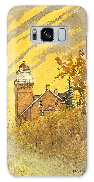 Big Bay Lighthouse Galaxy Case