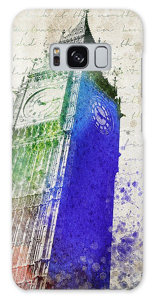 Big Ben Galaxy Case by Aged Pixel
