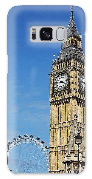 Big Ben And London Eye Galaxy Case
