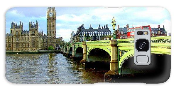 Big Ben And River Thames Galaxy Case