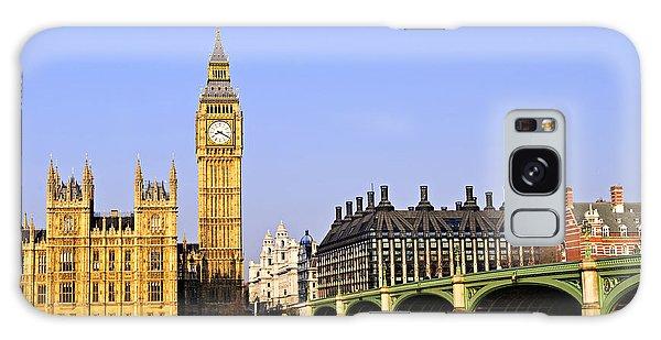 Landmark Galaxy Case - Big Ben And Westminster Bridge by Elena Elisseeva