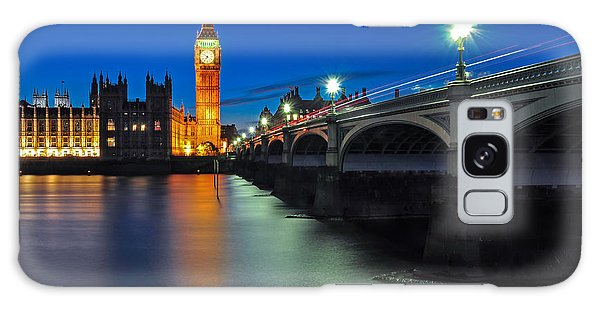 Big Ben And Westminster Bridge Galaxy Case