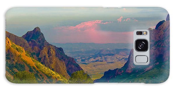 Big Bend Texas From The Chisos Mountain Lodge Galaxy Case