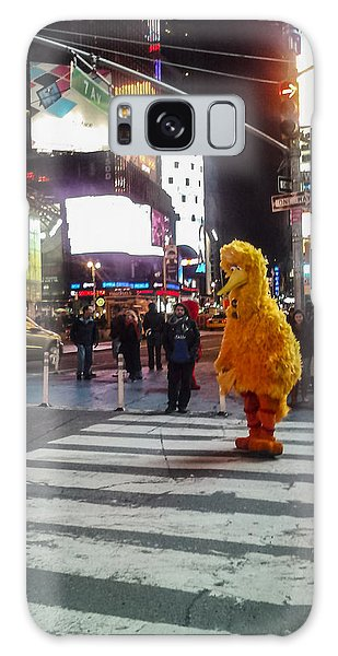 Big Bird On Times Square Galaxy Case