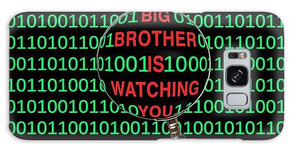Scientific Illustration Galaxy Case - Big Brother by Victor De Schwanberg