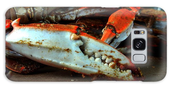 Big Crab Claw Galaxy Case by Bill Swartwout