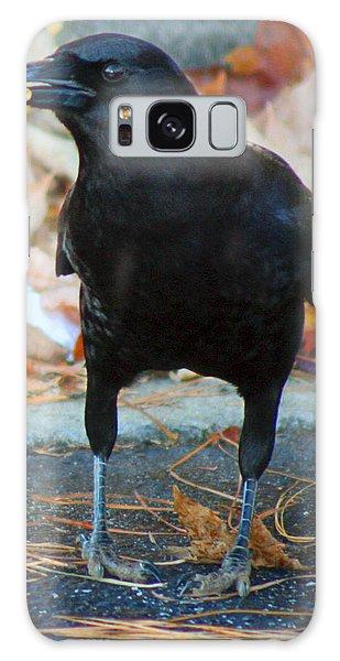 Big Daddy Crow Leaf Picker Galaxy Case
