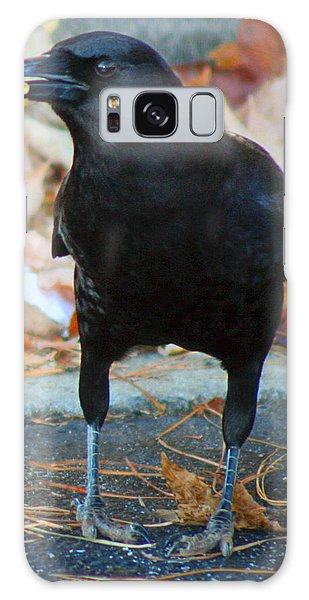 Big Daddy Crow Leaf Picker Galaxy Case