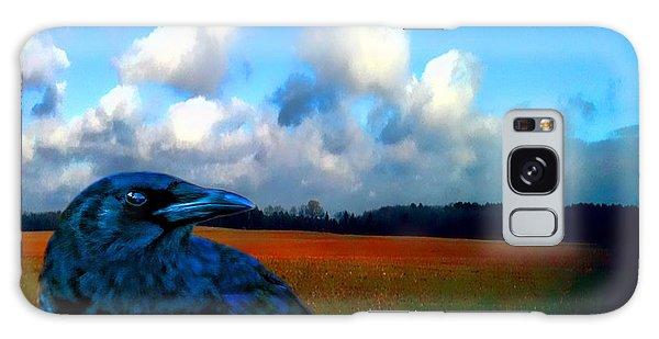 Big Daddy Crow Series Silent Watcher Galaxy Case