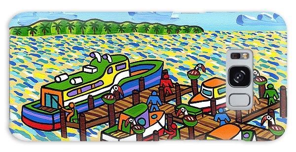 Big Dock - Cedar Key Galaxy Case