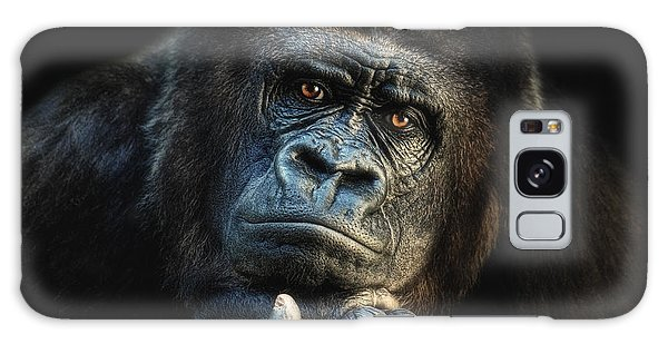 Gorilla Galaxy S8 Case - Big Dreamer by Joachim G Pinkawa