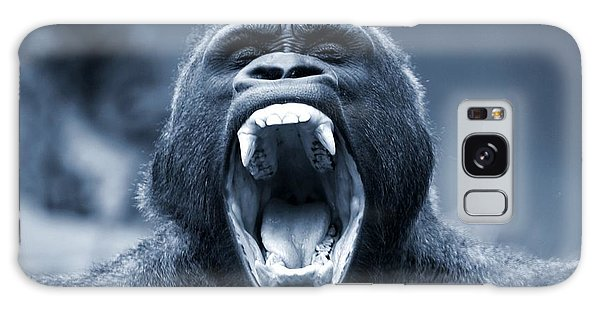 Big Gorilla Yawn Galaxy Case
