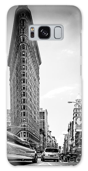 Big In The Big Apple - Bw Galaxy Case