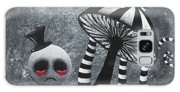 Big Juicy Tears Of Blood And Pain 6 Going 2 A Tea Party Galaxy Case by Oddball Art Co by Lizzy Love