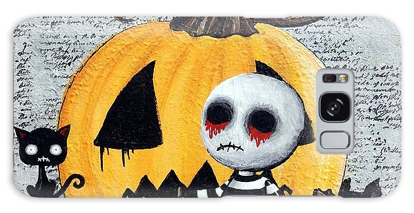 Big Juicy Tears Of Blood And Pain No. 11 The Great Pumpkin Galaxy Case by Oddball Art Co by Lizzy Love