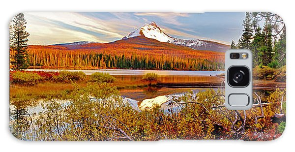 Big Lake And Mt Washington Oregon Galaxy Case