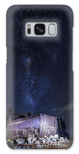 Big Muskie Bucket Milky Way And A Shooting Star Galaxy Case