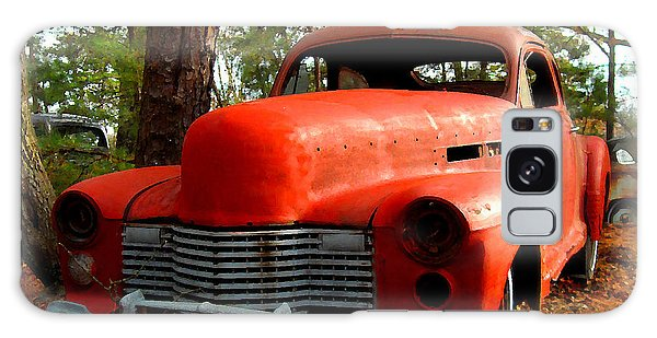 Big Orange Old Car Nose Galaxy Case