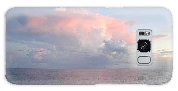 Big Pink Cloud Over Sea Galaxy Case