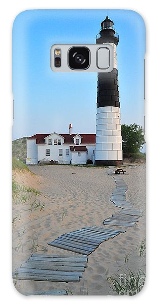 Big Sable Point Great Lakes Lighthouse Galaxy Case