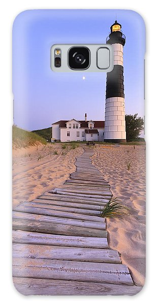 Great Lakes Galaxy Case - Big Sable Point Lighthouse by Adam Romanowicz