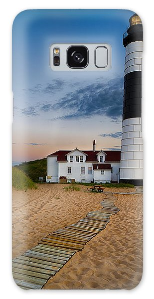 Big Sable Point Lighthouse Galaxy Case