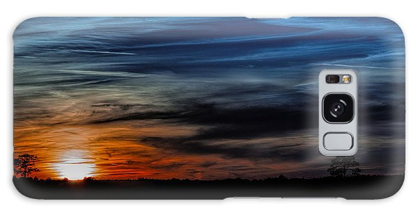 Big Sky Sunset Galaxy Case