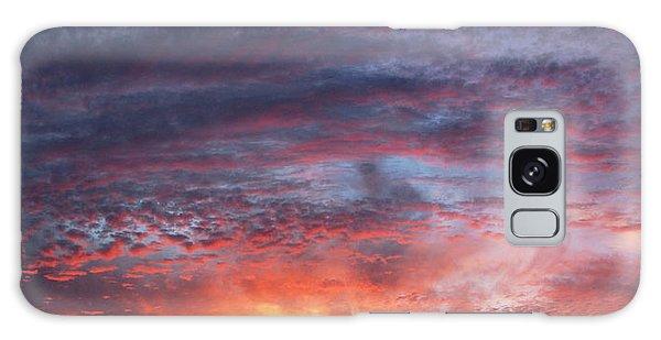 Big Sunset  Galaxy Case