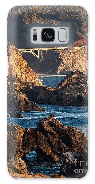 Big Sur Coastal Serenity Galaxy Case